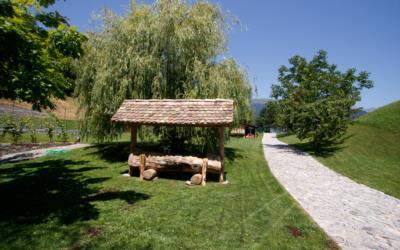 Esterno dell'agriturismo vicino ad Arta Terme e lo Zoncolan