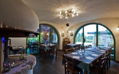 Agriturismo ristorante con piatti tipici locali