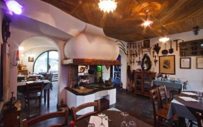 Sala ristorante per la degustazione di piatti tipici carnici